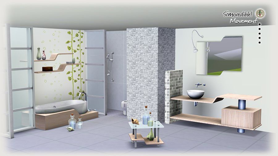 Sims 3 Bathroom Ideas