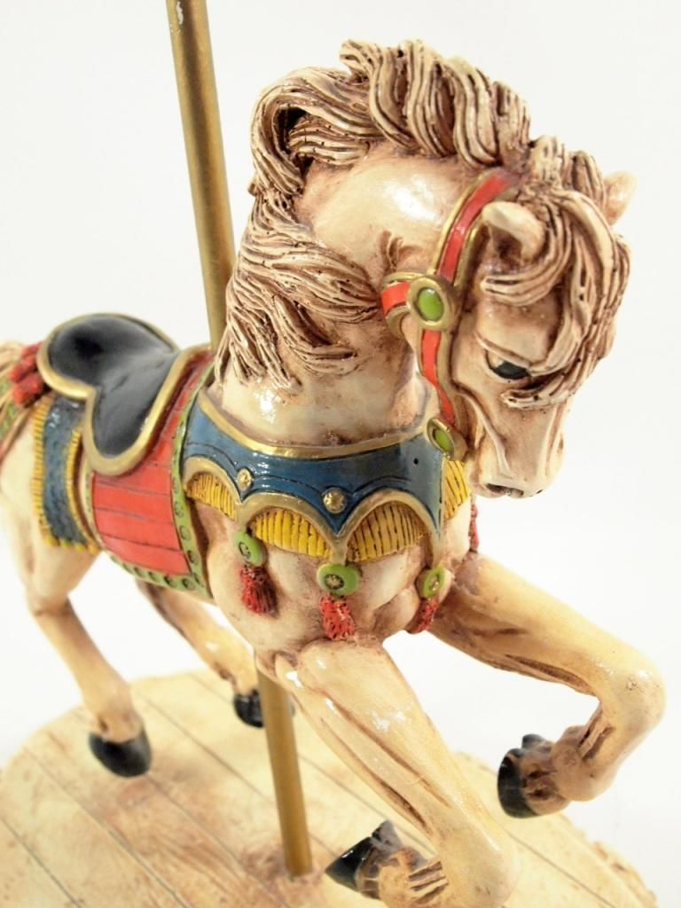 Florentine Art Studio - Carousel Horse Statue - 1982 - Vintage ...