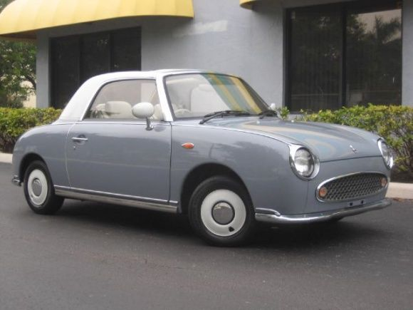 1991 Nissan Figaro | Cars | Pinterest | Nissan, Cars and Classic ...