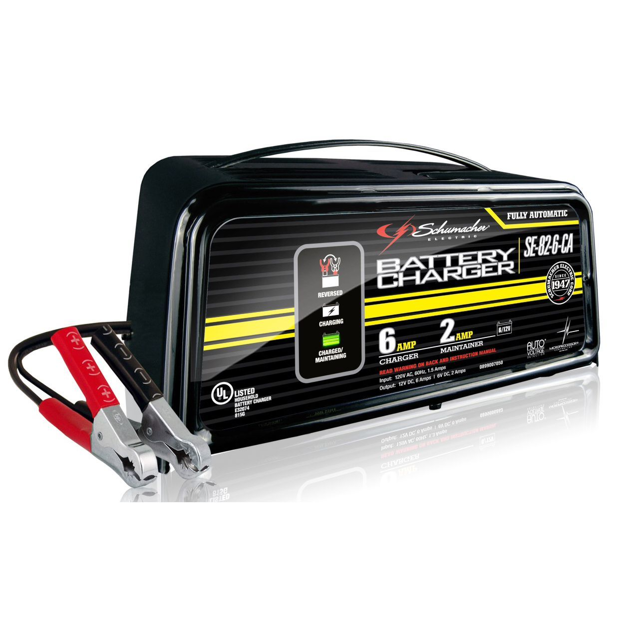 2 Amp DC 12 AC 120V Lithium Ion Battery Charger for Motorcycle Touring Bike