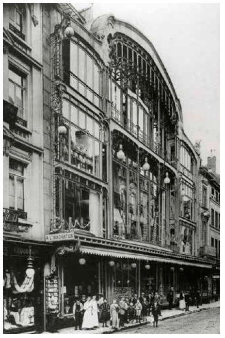 Batiment Victor Horta - rue Neuve
