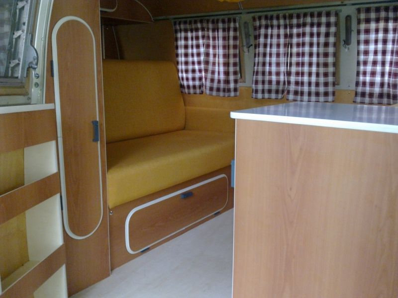 Westfalia interieur voor volkswagen campers repro westy for Interieur westfalia