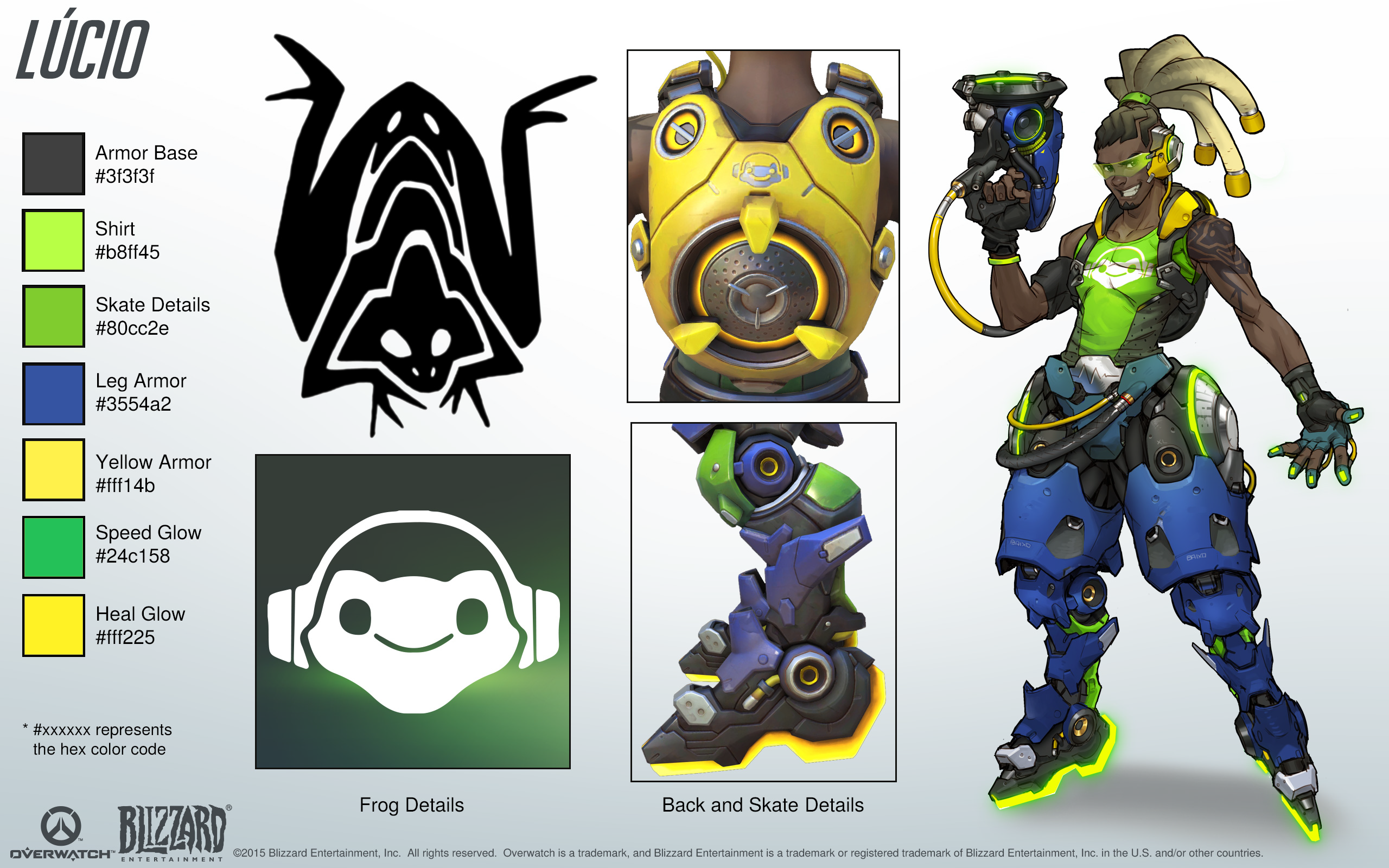 Lucio Cosplay Reference Guide 1 Overwatch