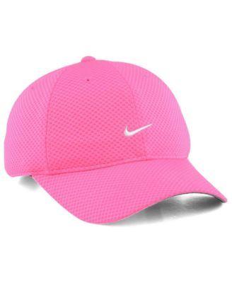 aa38459386279 Nike 6 Panel Tailwind Cap - Pink White Adjustable