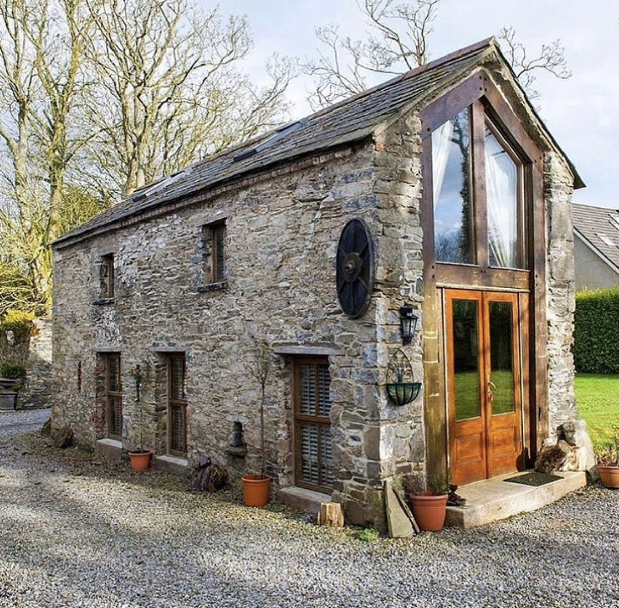 Sweet Stone Small House Love It Small House Tiny House Cabin Tiny House Design