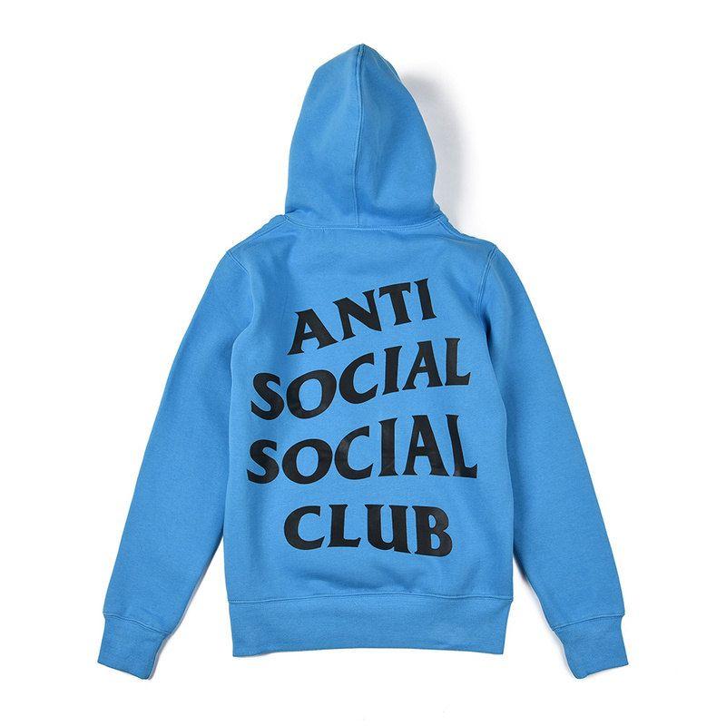 3220f5205 Anti Social Social Club Blue Hoodie #AntiSocialSocialClub #ASSC  #StaminaStudio