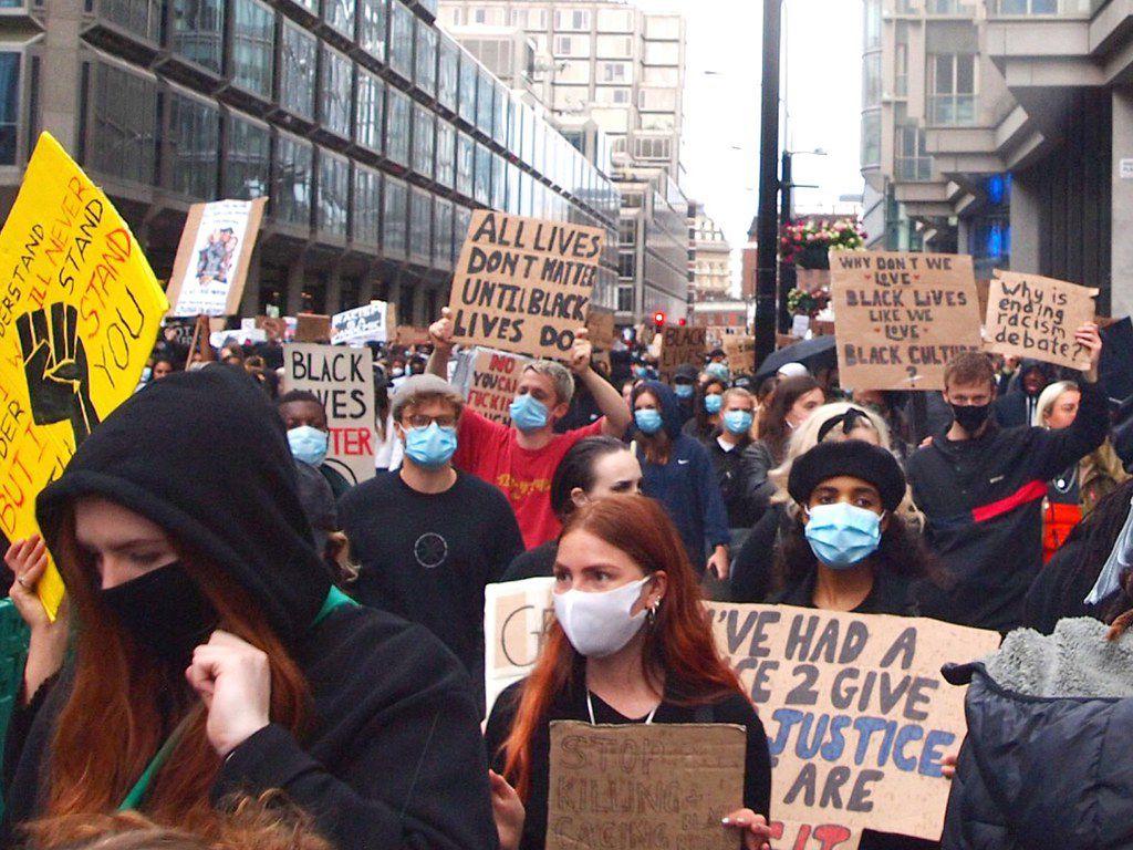 Protest Black Lives Matter London 2020 Black Lives Matter Black Lives Lives Matter