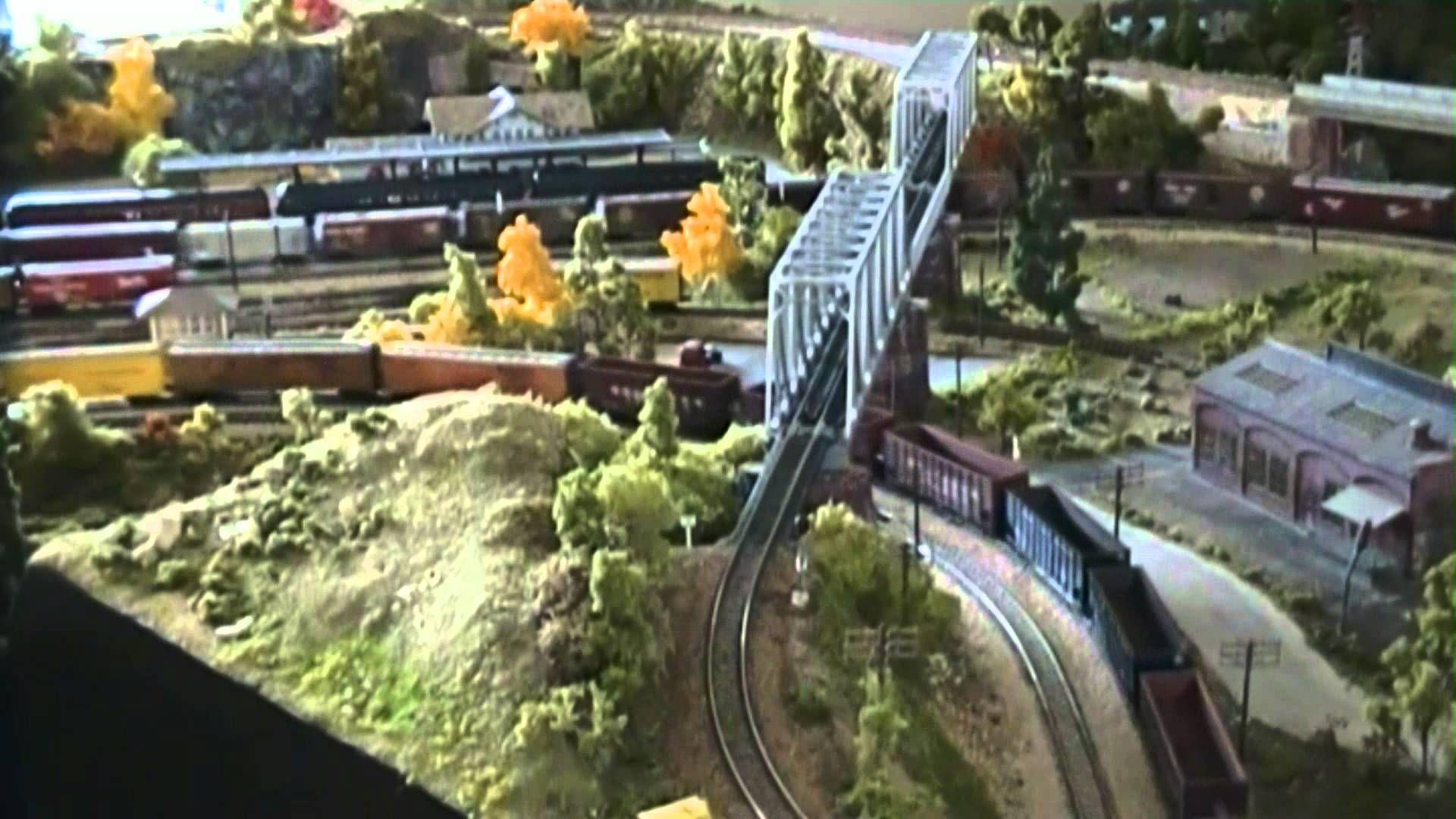 Plant Room Divider N Scale Model Train Layout N Gauge Modelismo Ferroviario