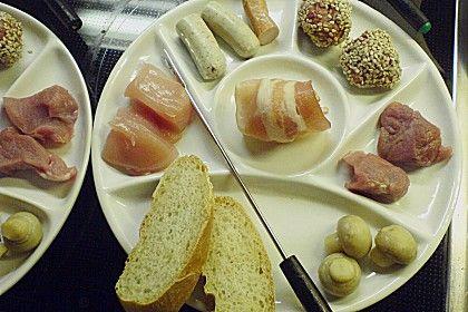 fleisch fondue rezept food fondue fondue rezepte und fleisch. Black Bedroom Furniture Sets. Home Design Ideas