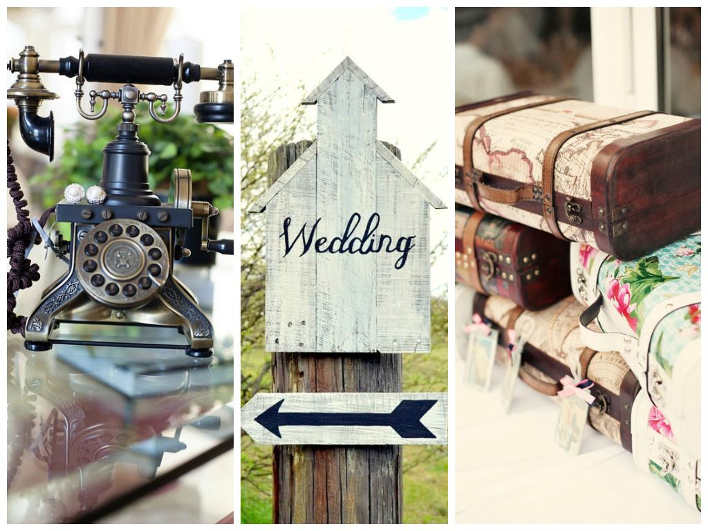 Vintage wedding furniture decor - Vintage Wedding Props