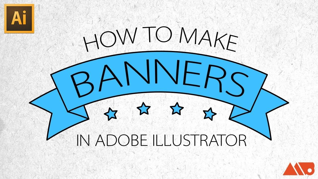 Subscribe httpyoutubesubscriptioncenteradduser adobe illustrator tutorial how to make banners ribbons baditri Image collections