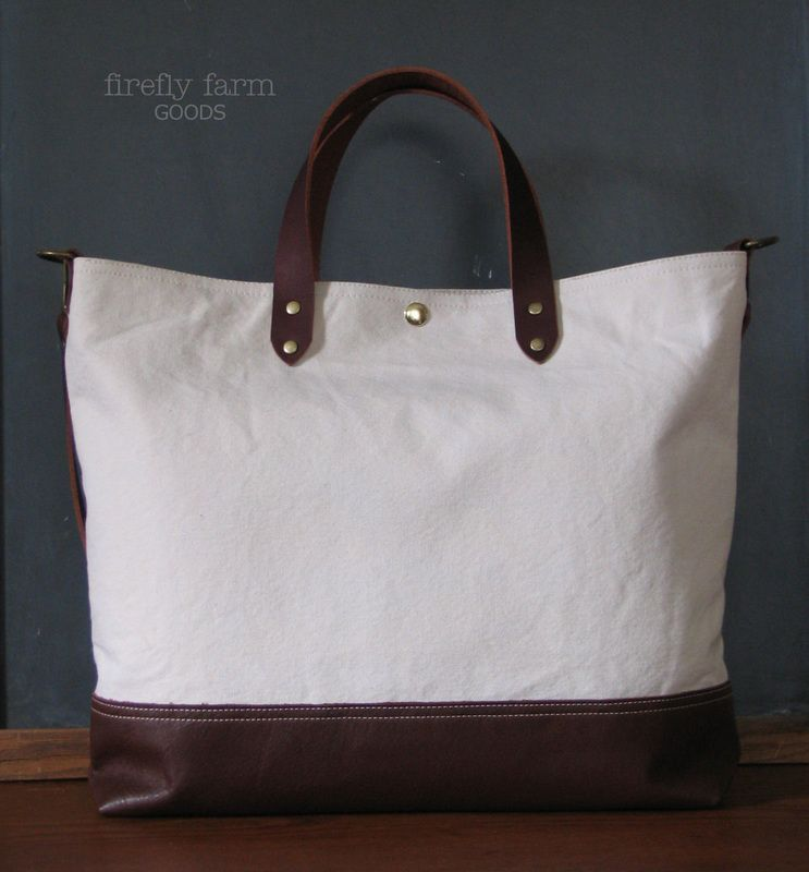 Us Military Laundry Canvas Leather Bag This Tote Is Constructed