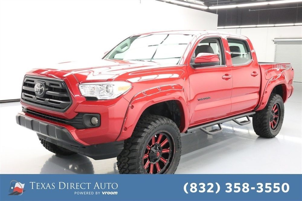 For Sale 2018 Toyota 4x4 TRD Sport 4dr Double Cab