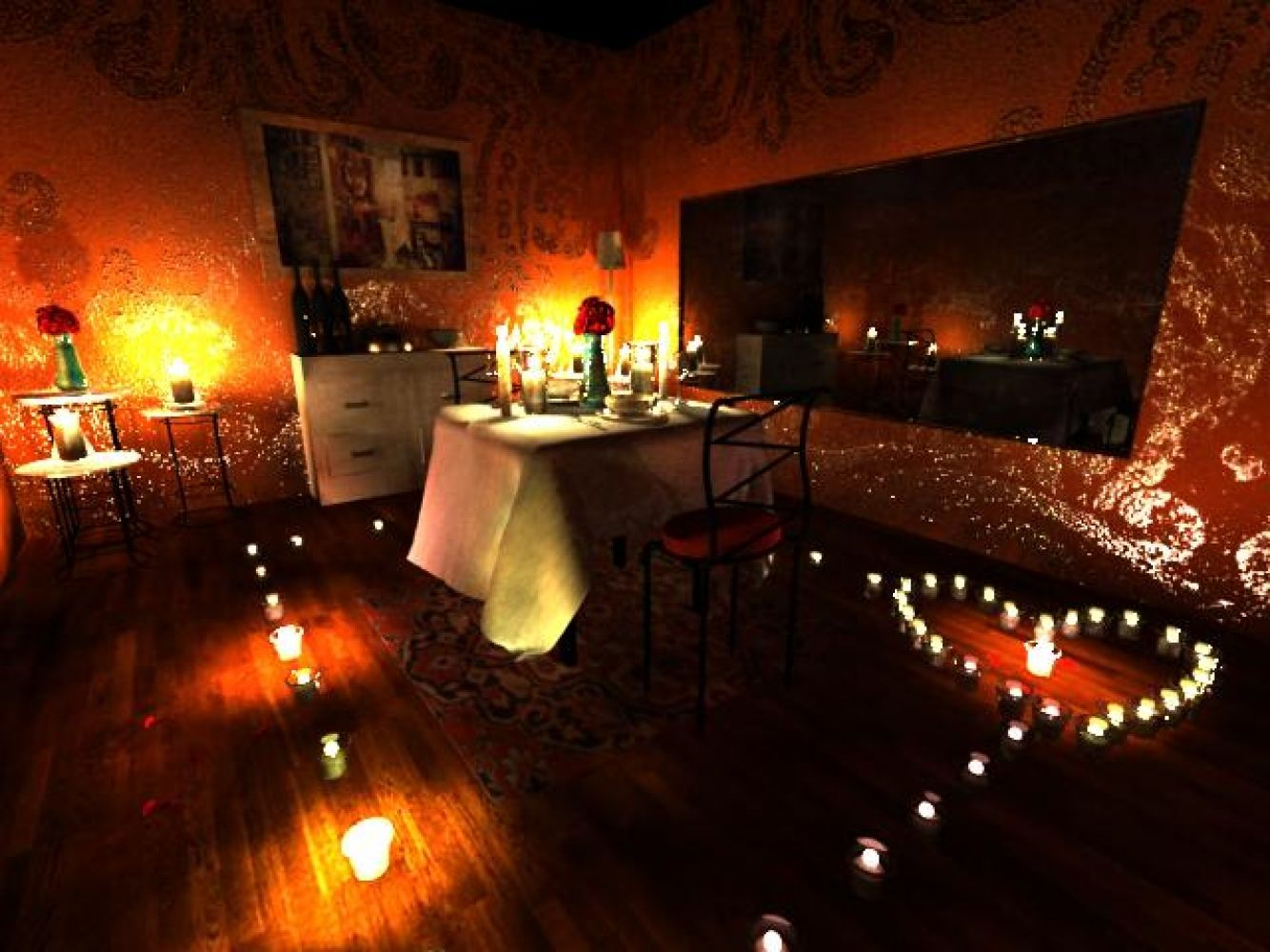 Man Proposes With Lights Display Display Pictures Romantic And Display