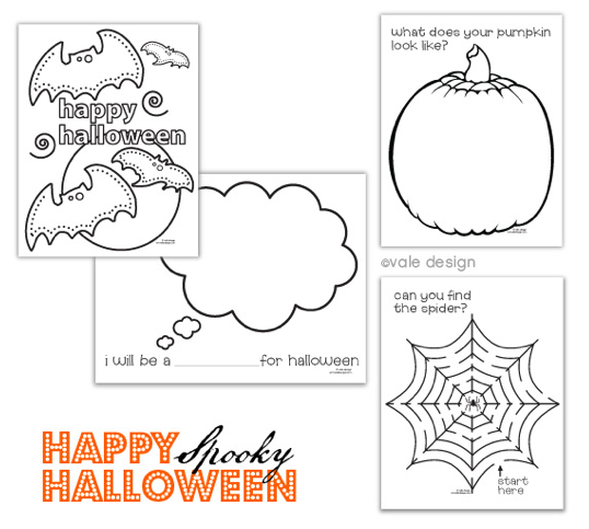 Number Names Worksheets : halloween worksheets for children ~ Free ...