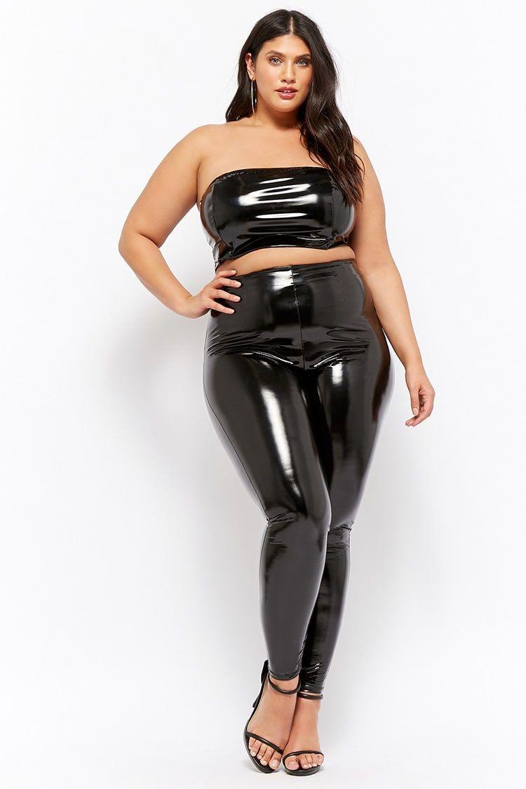 shiny leggings tube