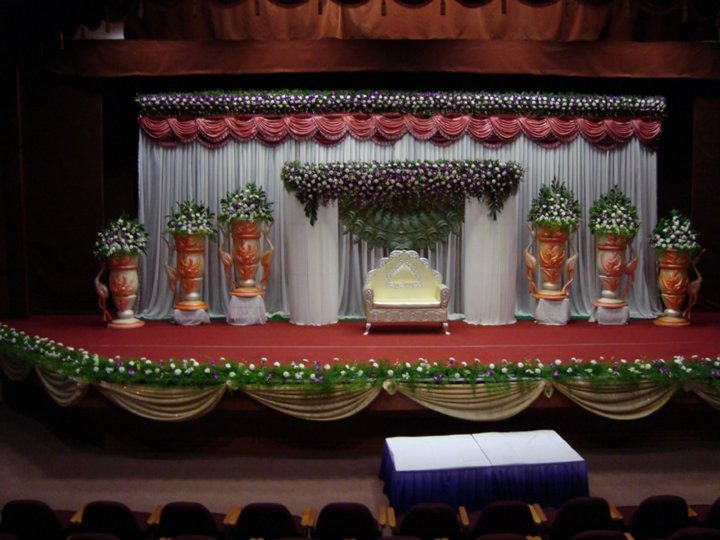 Bangalore Stage Decoration Design 348 Wedding Flower