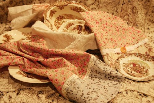 Some beautiful towels -- I need to get busy!