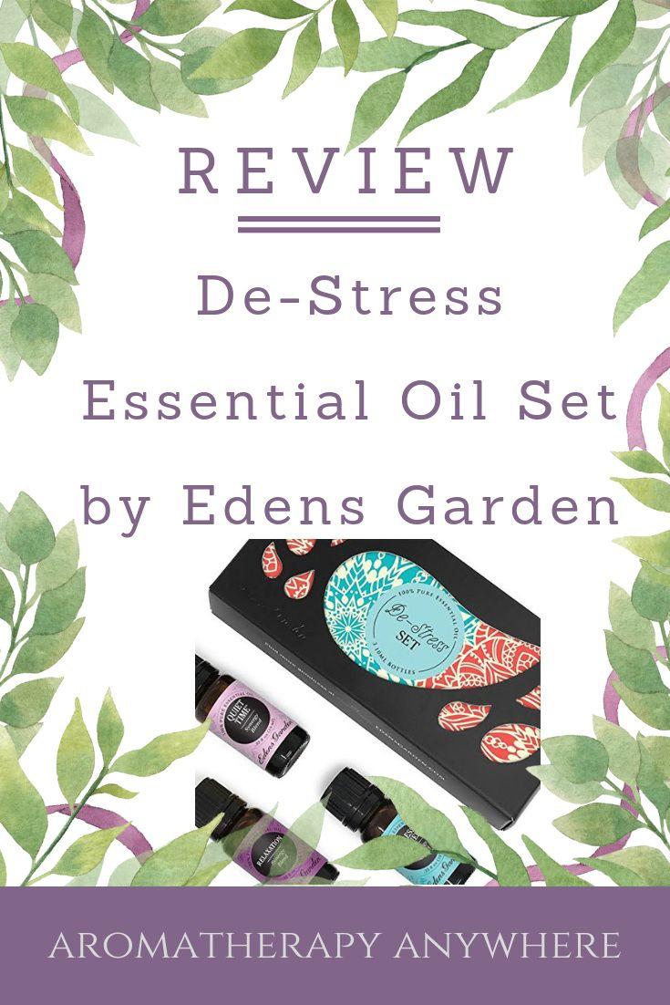 DeStress Essential Oils Set By Edens Garden Review