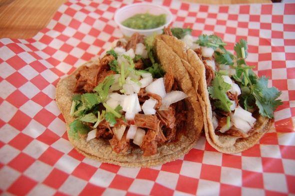 Tacos at Pancho Y Emiliano