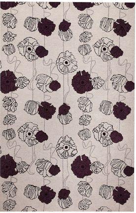 c06b2580fc Designer rugs at 60% off! M.A. Trading Modern Lights Flores Grey Rug ...