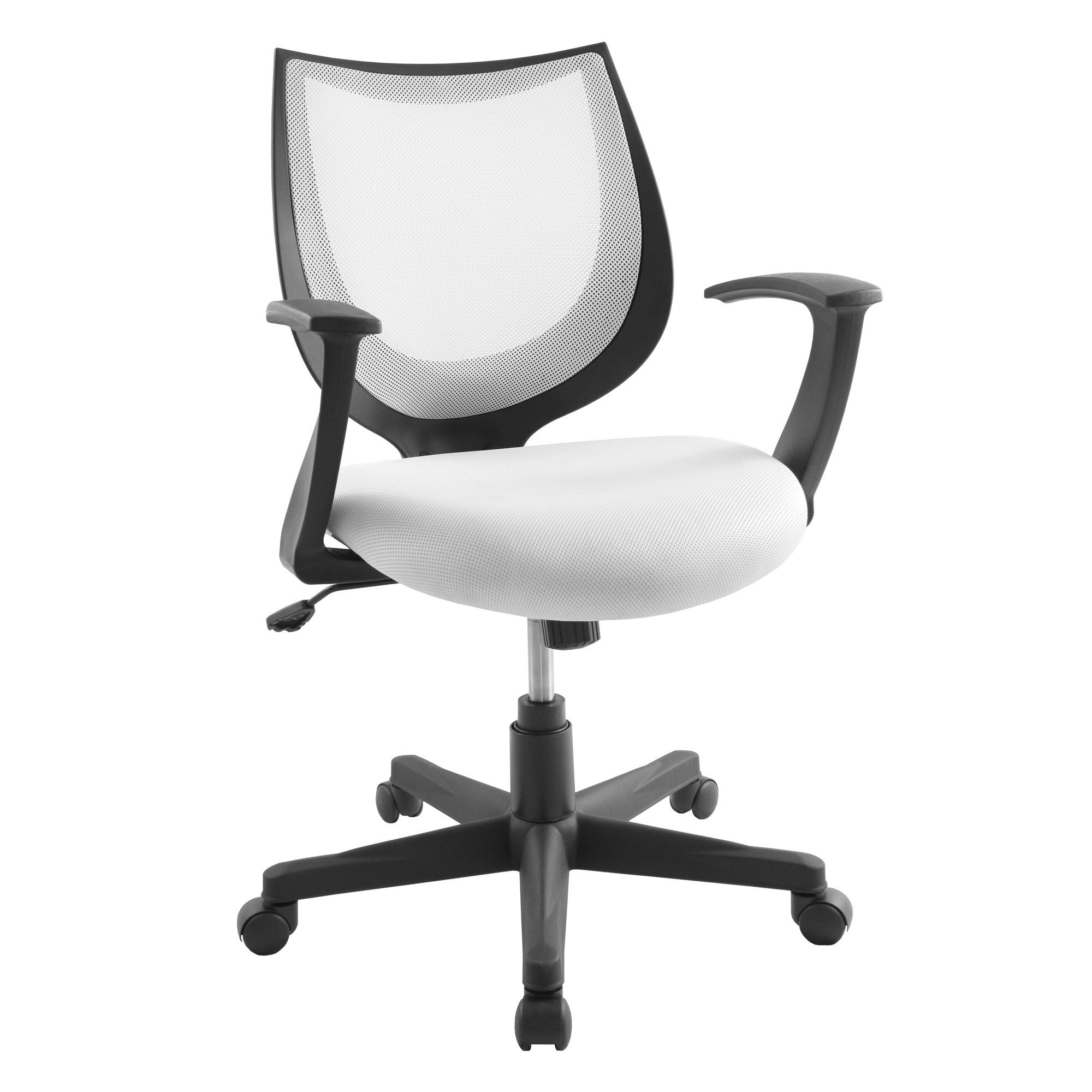White Leather Desk Chair Check more at http//www