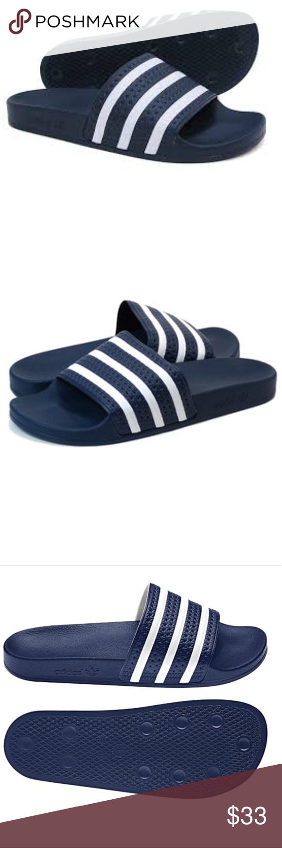 bnib adidas adilette diapositive marina bianchi piscina diapositive, adidas e