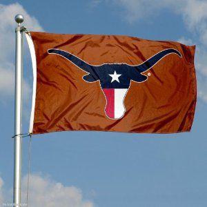 Amazon Com Texas Longhorn Flag Tx State Flag Colors Outdoor Texas Longhorns Texas Football Longhorn