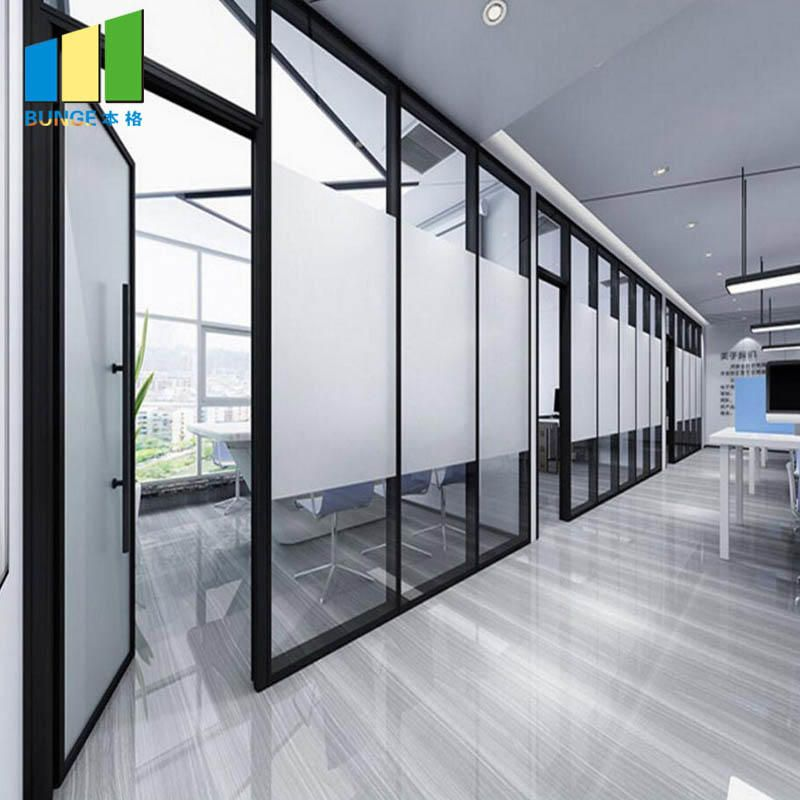 Manufacturer Of Glass Partition Walls Interior Aluminum Frame