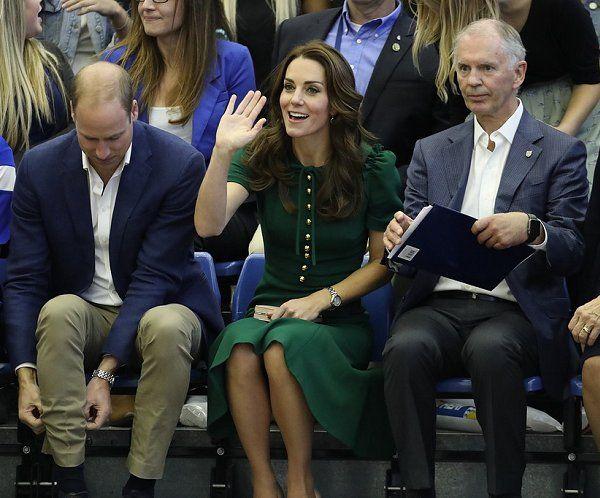 Prince William, Duke of Cambridge and Catherine, Duchess of Cambridge visit Kelowna University