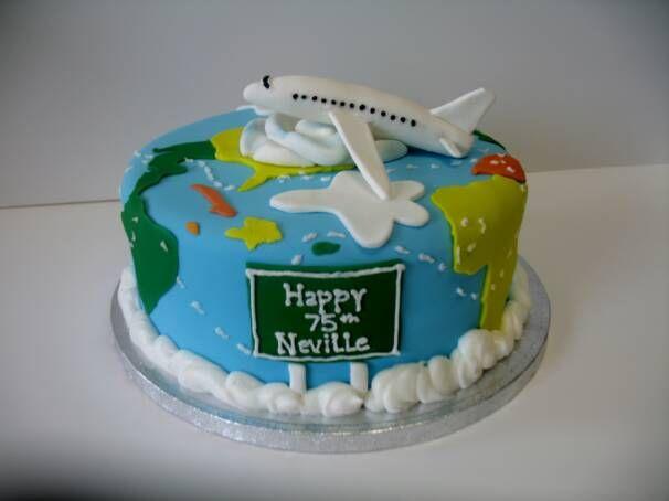 ruffle cakes airplane - Pesquisa Google