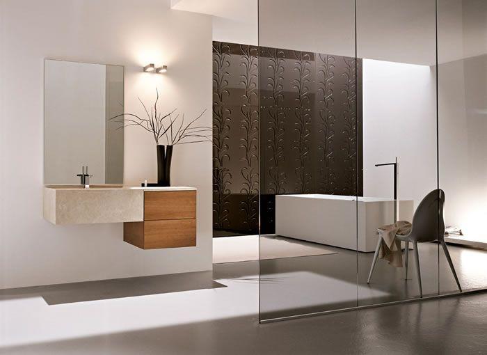 Het Bluform badkamer meubel Razio is ook erg strak en mooi ...