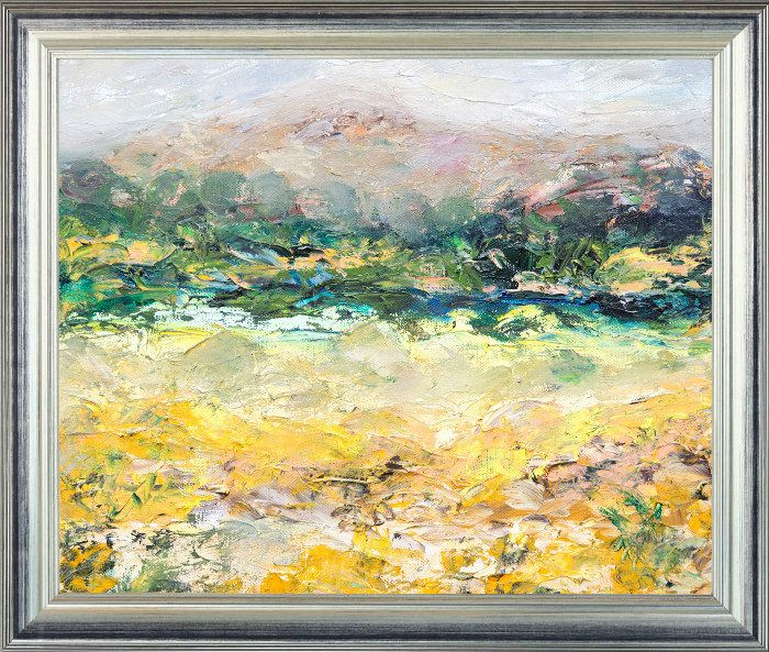 Oil Painting Canvas Painting Abstract Painting Landscape Oil Field Art Abstract Landscape Abstract Art Home Decor Pa Abstract Painting Abstract Painting Gift