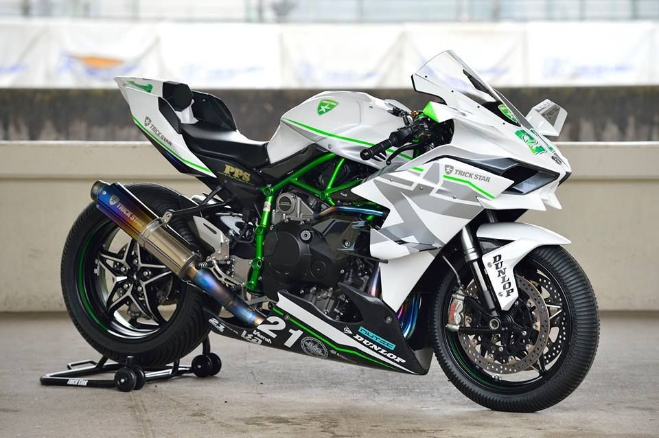 Kawasaki Ninja H2r In Whopping Action Video Dream Bikes