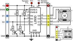 Descripción PaperStepper(L293D) es un driver de potencia ... on
