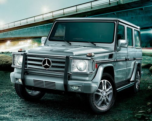 12 Worst Cars For The Environment In 2011 Mercedes Benz G Class
