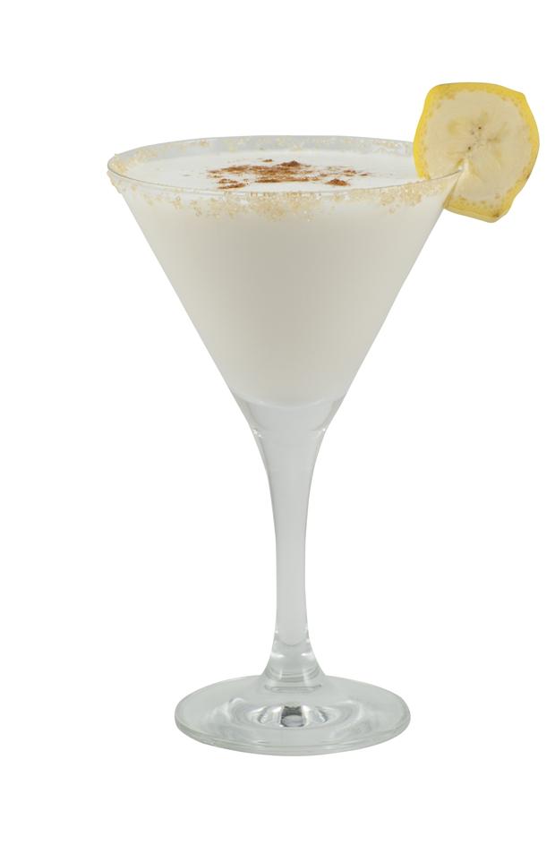 Banana Rum Cake Martini Recipe Martinis Rum and Bananas