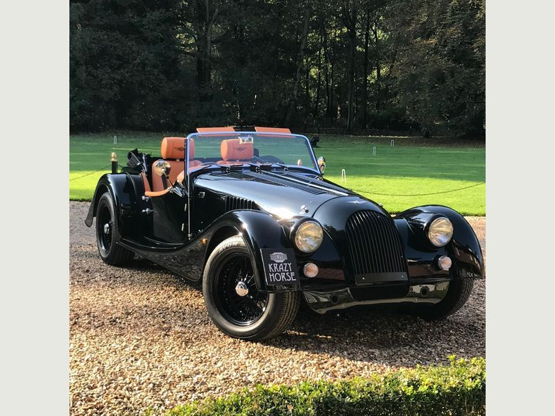 2018 Black Morgan Plus 4 2 0 2dr For Sale For 52995 In Bury St Edmunds Suffolk Morgan Cars Stone Guard Autotrader