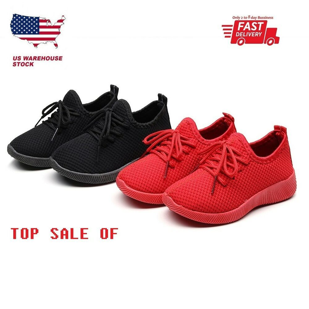 New Style Child Toddler Baby Boy Girl Mesh Ankle Boots Sport Shoes Sneakers