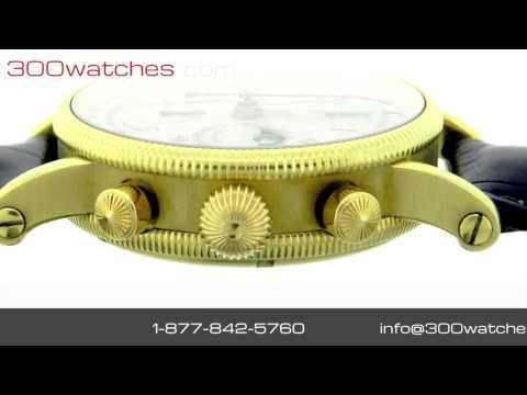 #Chronoswiss Lunar Chronograph CH7523L 18K Gold Automatic #Watch