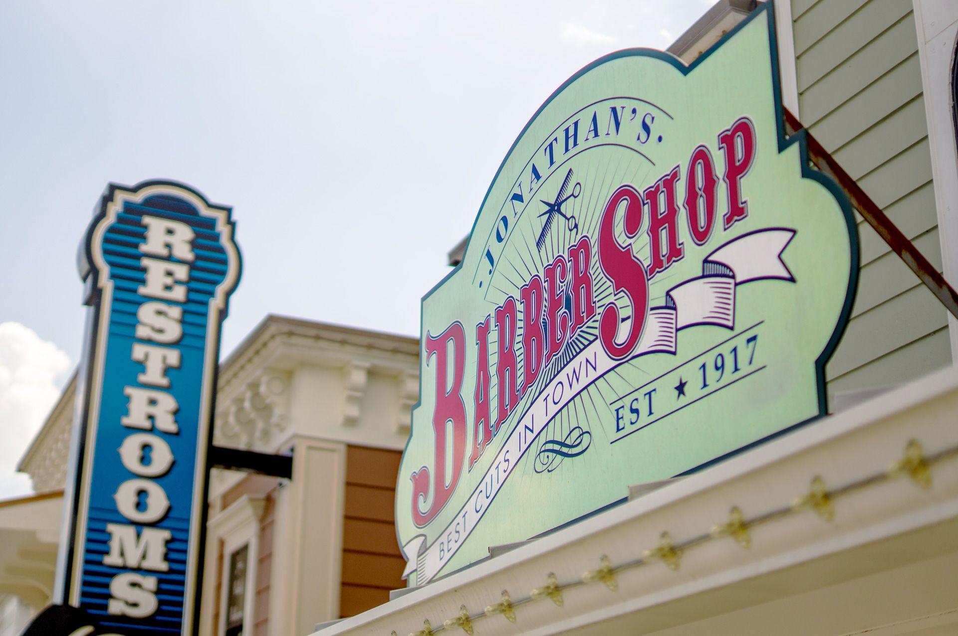 Wonderland San Antonio Logo Design Barber Shop