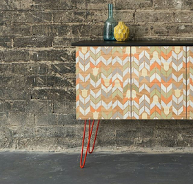 Mirth Studio - Colorful Patterned Hardwood Floor Tiles: Kitchens, Collaboration and KBIS!