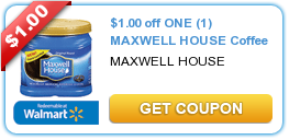 photo relating to Maxwell House Coffee Coupons Printable titled $1.00 off A person (1) MAXWELL Room Espresso #coupon Printable