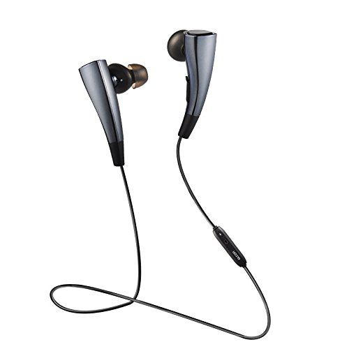 Bluetooth Headphones Sports Sweatproof Wireless Headset For IPhone 6G 6S 6plus Galaxy S6 S5 And Other Enabled Phones Black