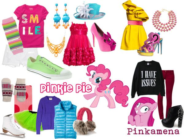 Pinkie Pie (My Little Pony Friendship is Magic) Inspired Outfis