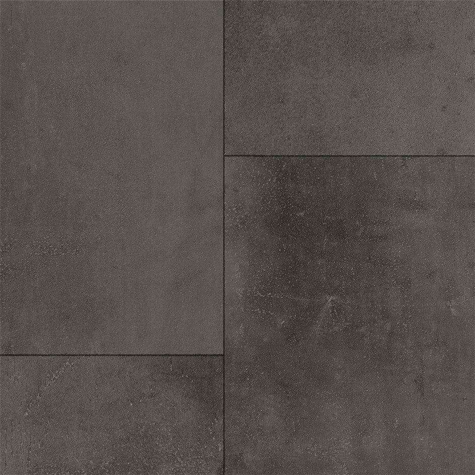 Vinylgolv Tarkett Extra Iron Tile Black   Iron