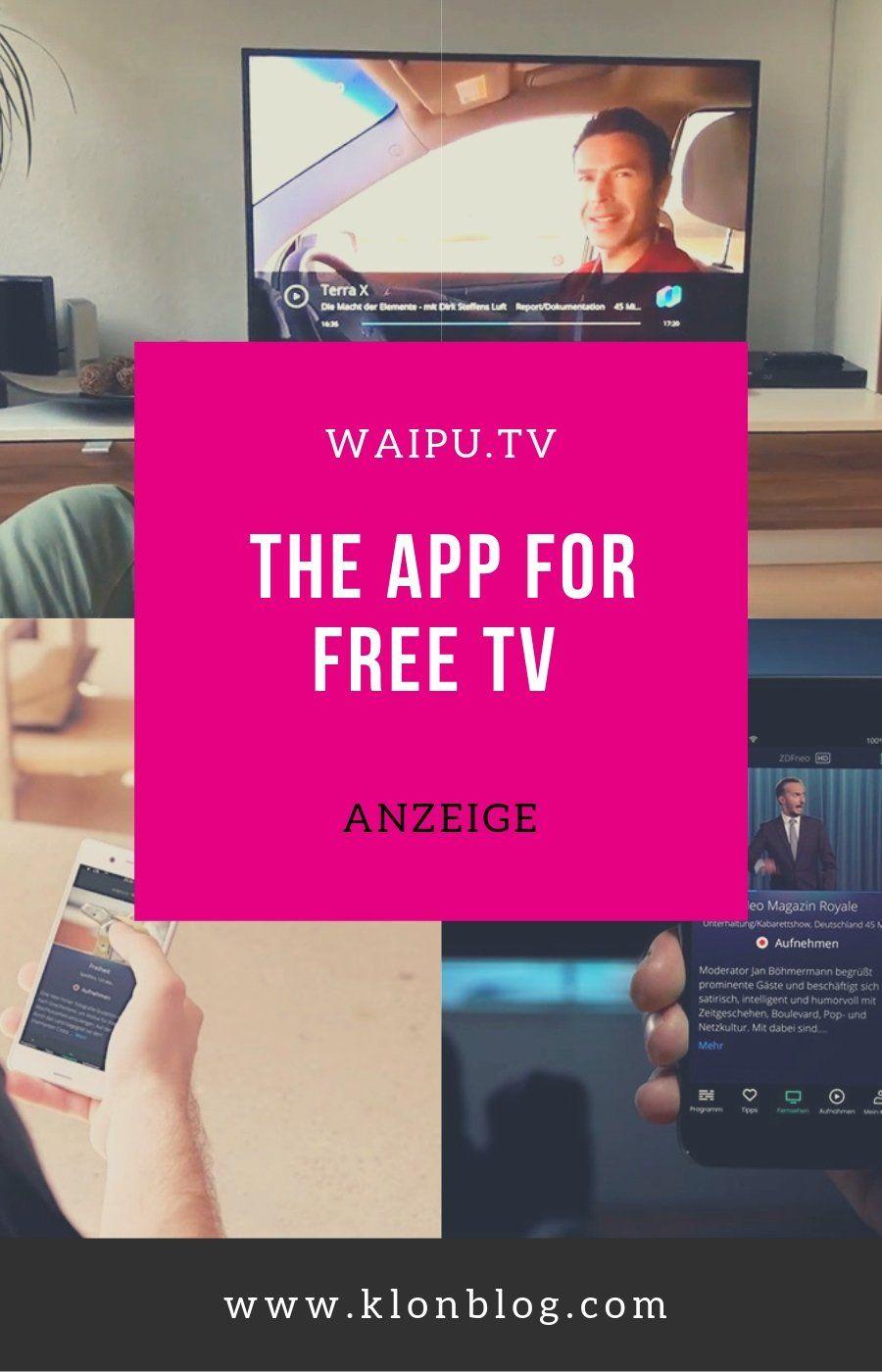 Mit Der App Waipu Tv Verpasst Ihr Nie Wieder Eure Liebsten Tv Serien App Tv Programm Tv Serien
