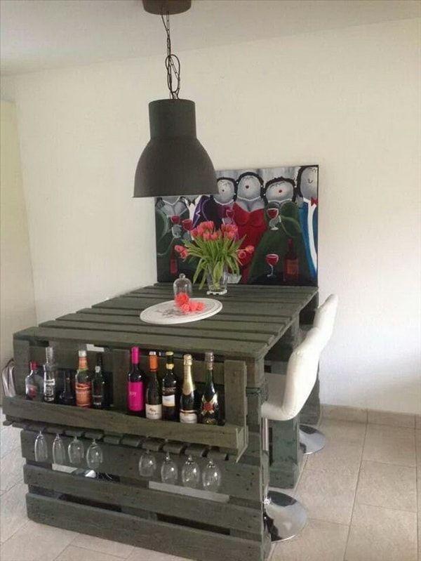 Cosas Con Palets Ideas De Muebles Con Palets Muebles Con Tarimas - Ideas-para-decorar-muebles