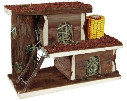 Villa with Snacks and Hay Pet home, Your pet, Hamster