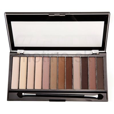 Makeup Revolution Essential Mattes 2 paleta očných tieňov 1